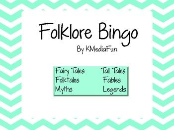 Folklore Bingo by KMediaFun