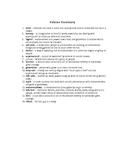 Folklore Vocabulary