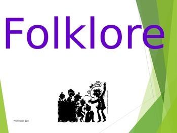 Folktales/Folklore Vocabulary PowerPoint