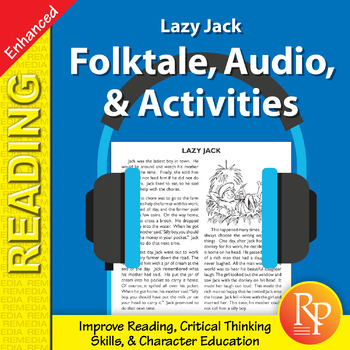 Folktale, Audio, & Activities: Lazy Jack - Enhanced