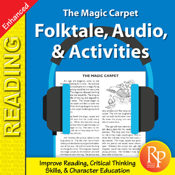 Folktale, Audio, & Activities: Magic Carpet - Enhanced