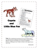 Coyote and Little Blue Fox