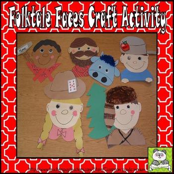 Folktale Faces Craft Activity
