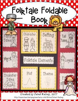Folktale Foldable Book