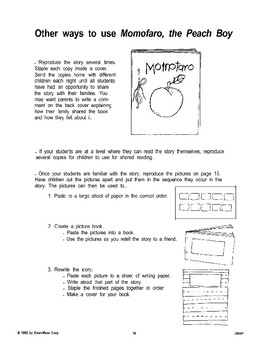 Folktale Follow-Up: Momotaro