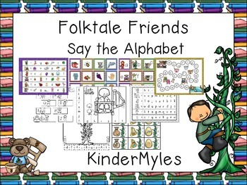 Folktale Friends Say the Alphabet