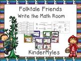 Folktale Friends Write the Math Room
