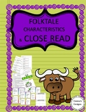 Folktale Characteristics & Close Read