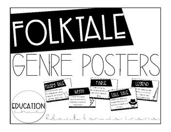 Folktale Genre Posters