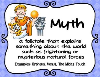 Folktale genres poster set freebie fairy tale tall tale for Tale definition