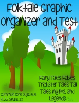 Folktale Graphic Organizer and Test
