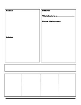 Folktale Newspaper Project and Rubric