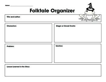 Folktale Organizer