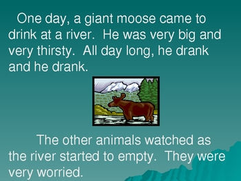 "Folktale:  ""Saved By A Fly""  vocabulary and story"