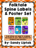 Folktale Spine Labels and Poster Set
