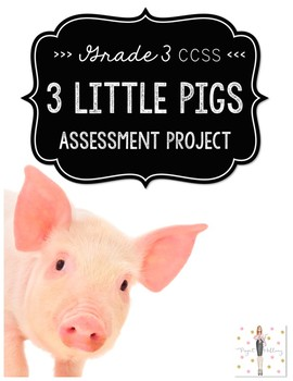 Three Little Pigs Stories: Classic vs. Contemporary  {A Project to Meet CCSS}