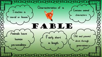 Folktale Unit Presentation