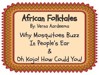 Folktale Verna Aardema Book Study BUNDLE