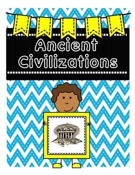 Ancient Civilizations Binder Inserts