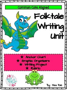 Folktale Writing Unit * CCSS * Grades 2-6