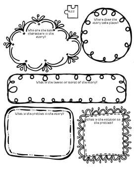Folktale and Fable graphic Organizers