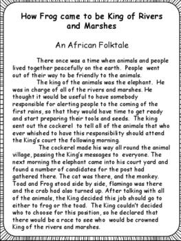 photo regarding Printable Folktales titled Examining: Folktales With Knowing Printables