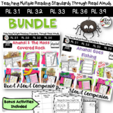 Folktales: Anansi Bundle 3rd Grade  RL3.2 RL3.3 RL3.6 RL3.9 & Writing Activity