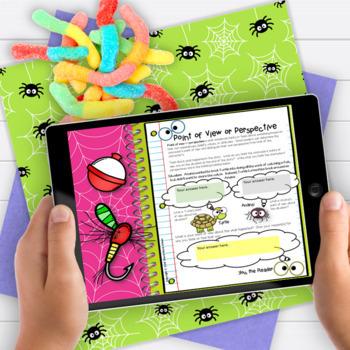 Folktales: Anansi Bundle 3rd Grade  RL3.2 RL3.3 RL3.6 RL3.9 & Writing Activity