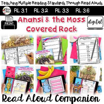 Folktales: Anansi and the Moss Covered Rock 3rd Grade  RL3.2 RL3.3 RL3.6