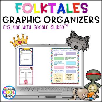 Folktales Digital Graphic Organizers For Google Slides