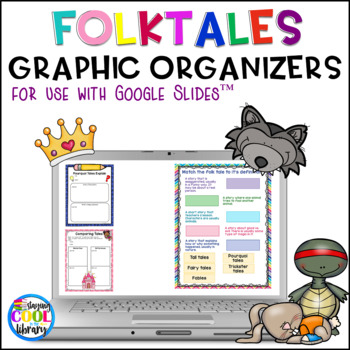 Folktales Digital Graphic Organizers for Google Slides - Distance Learning