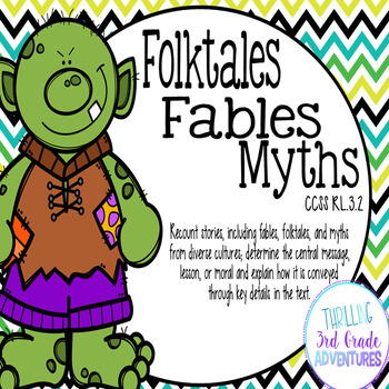 Folktales, Fables, Myths: Theme and Moral of the Story