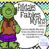Folktales, Fables, Myths: Printable and Digital (Google Slides)