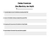 Folktales, Fables, and Myths Organizer Bundle