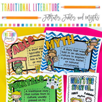 Traditional Literature Reading Unit