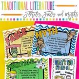 Traditional Literature Reading Unit