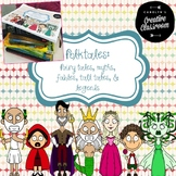 Folktales: Fairy tales, Myths, Fables, Tall Tales, & Legends