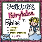 Folktales, Fairy Tales and Fables - Passages, Activities and Graphic Organizers