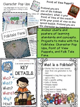 Folktales I Can Read and Write For the Common Core