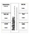 Folktales Interactive Notebook