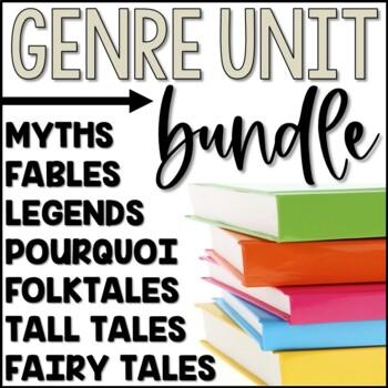 Folktales, Myths, & Legends Genre Study Bundle