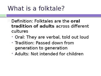 Folktales PowerPoint