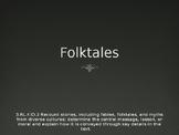 Folktales Powerpoint (general folktales, fairytales, fables, & trickster tales)