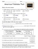 Folktales Assessment