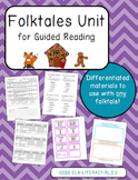 Folktales Unit for Differentiated Guided Reading