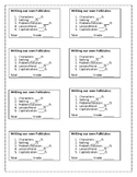Folktales Writing Activity and Assessment