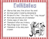 Folktales and Fables: Brochure and Poster Set