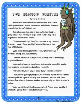 Folktales and Fables Common Formative Assessments/Literacy Center