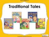 Folktales and Fables - PowerPoint, overview and worksheets