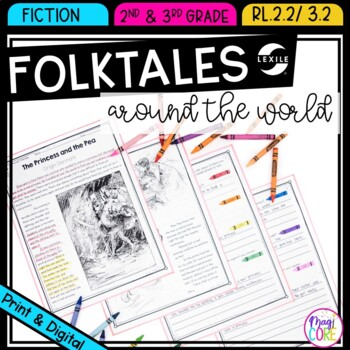 Folktales and Fairytales From Around the World- RL.2.2 & RL.3.2